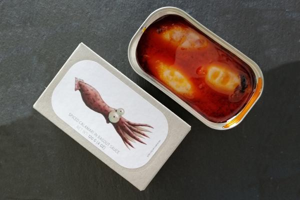 José Gourmet - Gefüllter Tintenfisch in Ragoutsauce