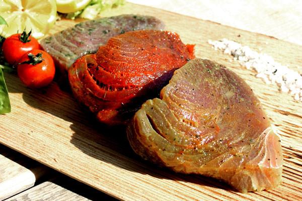 Thunfischfilet zum Grillen - Ungarisch