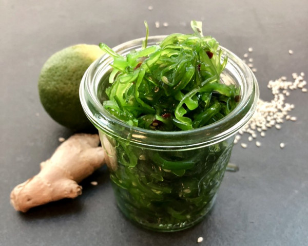 Goma-Wakame-Limetten-Ingwer-Salat