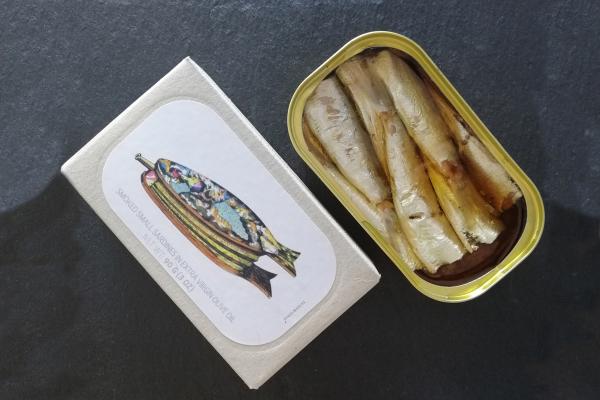 José Gourmet - Kleine, geräucherte Sardinen in Olivenöl