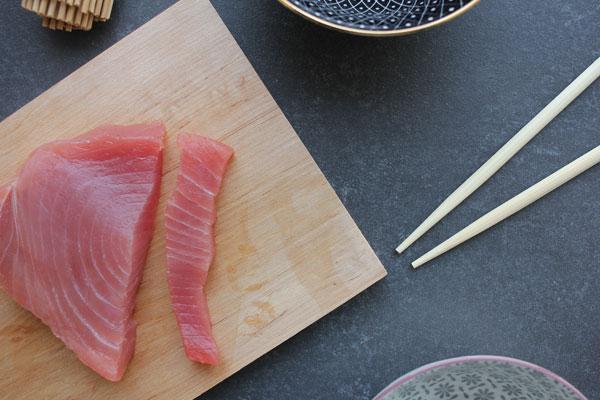 Thunfischfilet für SUSHI