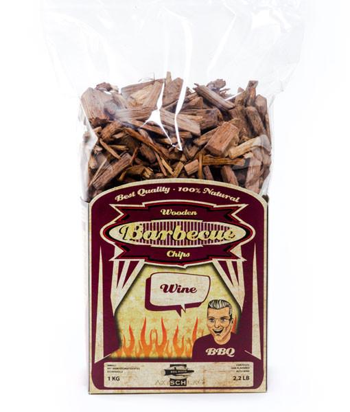 Wood Smoking Chips Räucherspäne Wine Eiche