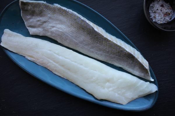 Skrei Filetspitzen - frisch, mit Haut