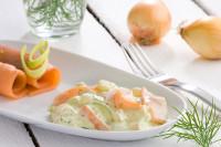 Räucherlachs Salat laktosefrei