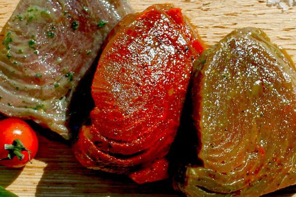 Thunfischfilet zum Grillen - Indisch