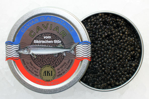 AKI Prestige Caviar d` Aquitaine