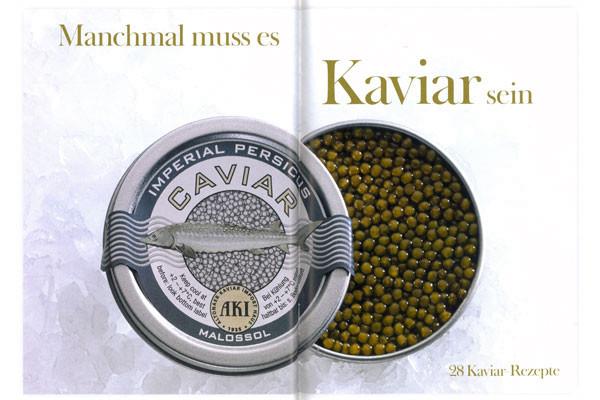 Manchmal muss es Kaviar sein - Kaviarbuch