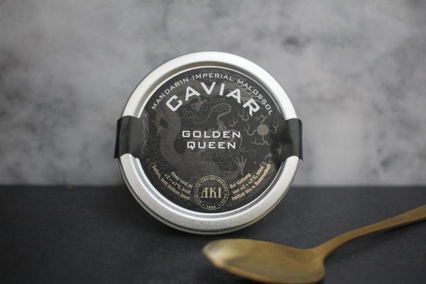 AKI Caviar Mandarin Imperial Golden Queen Malossol