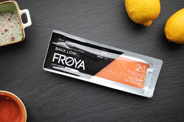 Frøya Lachsloin - frisch, sushiqualität
