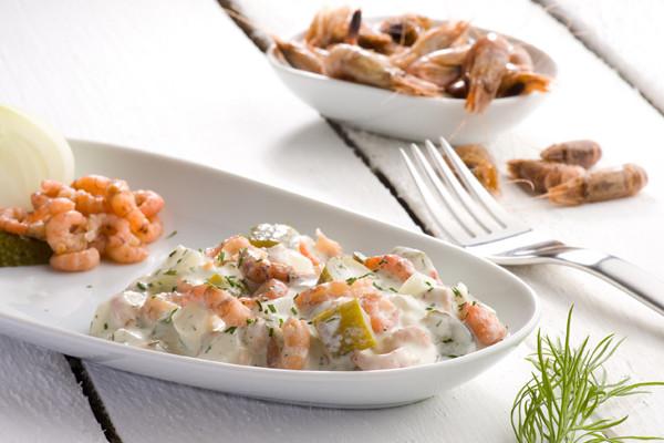 Krabben Salat Nordseekrabbencocktail