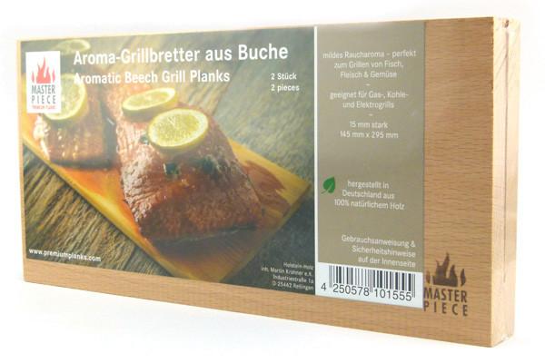 Masterpiece - Aroma-Grillbretter aus Buche
