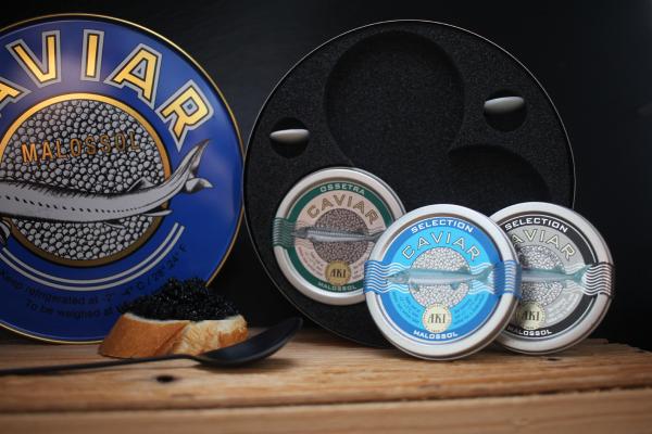 AKI Trio Caviar in Geschenkdose