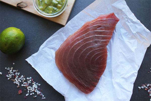 Thunfischfilet - frisch, zum Braten