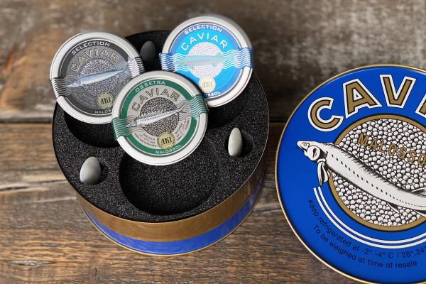 AKI Caviar Trio Bestseller Auswahl