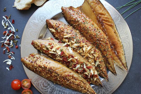 Makrelenfilet 5 verschiedene Gewürzarten