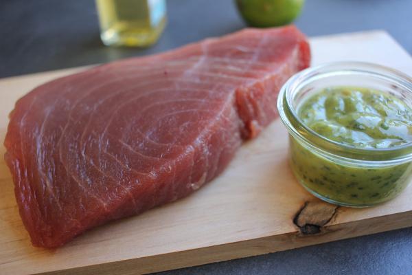 Thunfischfilet - friesisch mariniert