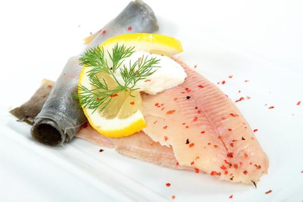 Forellenfilet - geräuchert
