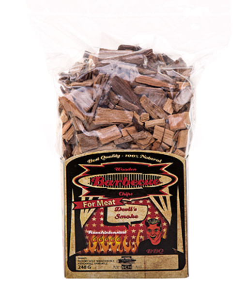 Wood Smoking Chips Räucherspäne Devil's Smoke