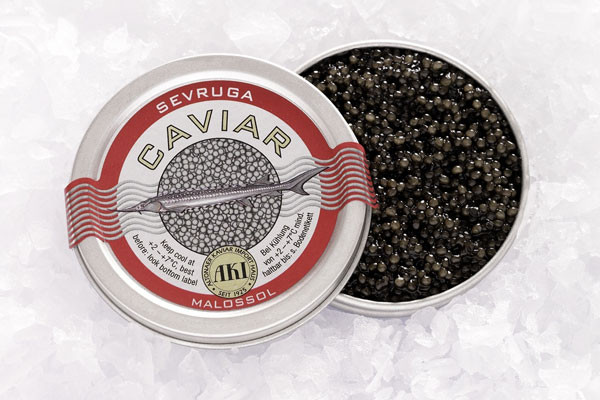 AKI Prestige Sevruga Caviar
