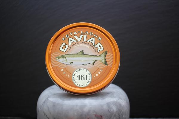AKI Keta Lachs Caviar frisch in der Dose