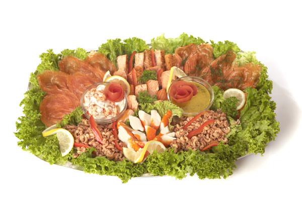 Fischplatte Langeoog