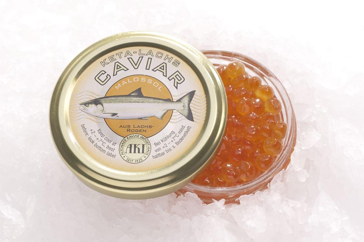 AKI Keta-Lachs Caviar frisch