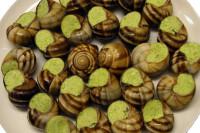Schnecken Elsässer Art mit Kräuterbutter