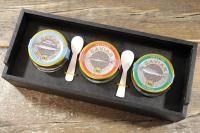 AKI 3er Set Luxus Sevruga Ossetra Beluga di Venezia Caviar