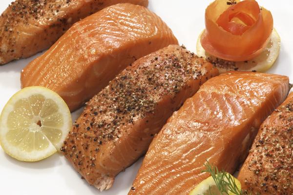 Stremel Lachs ohne Gewürz
